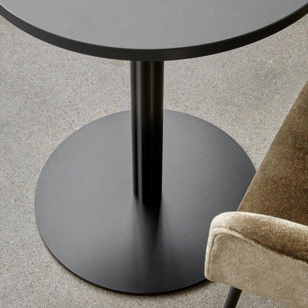 Menu HARBOUR COLUMN Stół 60x70 cm Blat Dębowy - Czarny