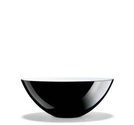 Holmegaard CCOCOON Misa Dekoracyjna 30 cm - Czarna