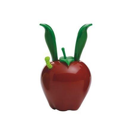 Chef'n - Garden Variety Mini Magnetics - Młynek do Pieprzu Czerwone Jabłko