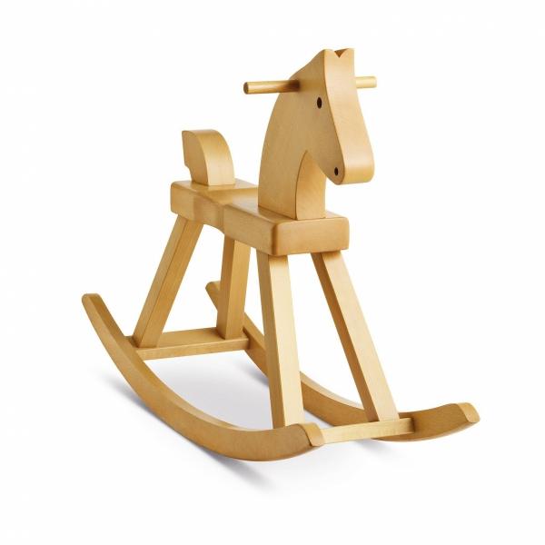 Kay Bojesen ROCKING HORSE Drewniany Konik na Biegunach dla Dzieci