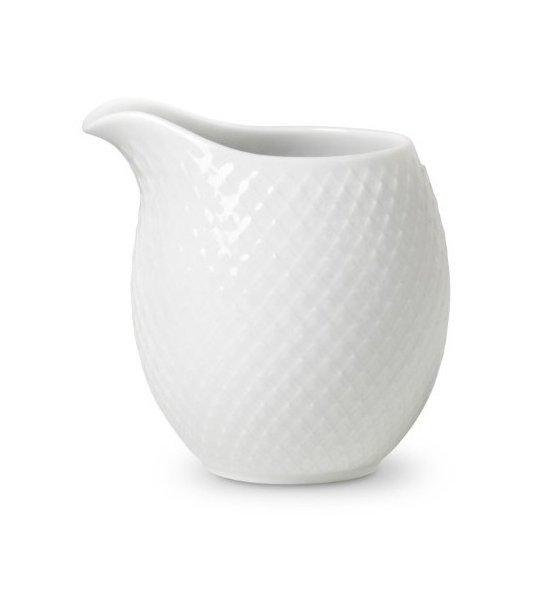 Lyngby Porcelain RHOMBE Mlecznik Biały