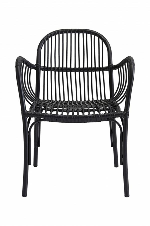 House Doctor BREA Krzesło Ogrodowe - Czarne