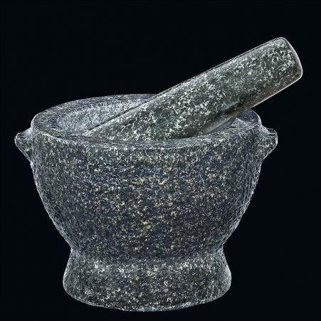 Cilio GOLIATH Moździerz z Tłuczkiem 18,5 cm Granitowy