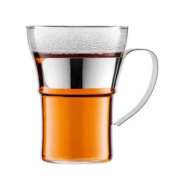 Bodum ASSAM Szklanki do Herbaty lub Kawy 350 ml 2 Szt.