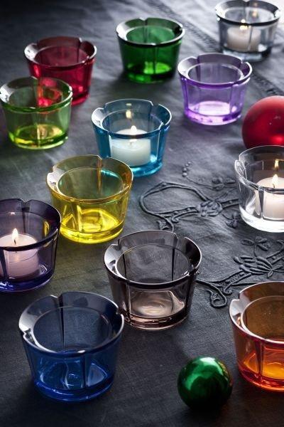Rosendahl GRAND CRU Świecznik Tealight - Błękitny