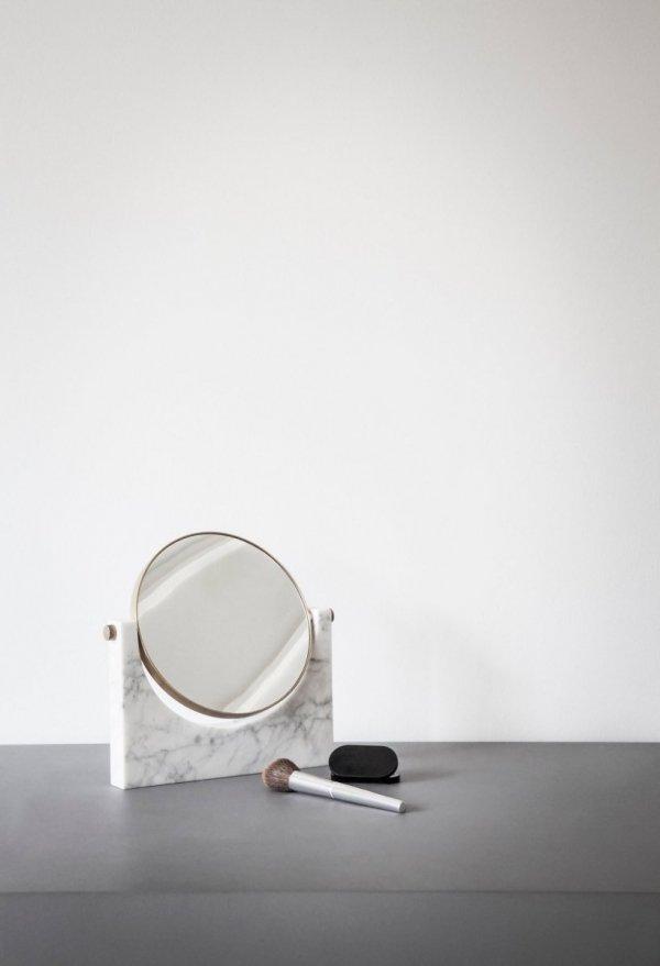 Menu PEPE MARBLE Lustro Marmurowe - Białe