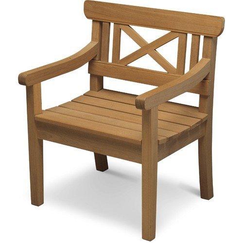 Skagerak DRACHMANN Krzesło - Fotel Ogrodowy - Drewno Tekowe
