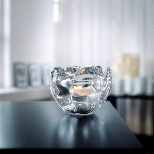 Holmegaard LOTUS Świecznik Tealight 9 cm