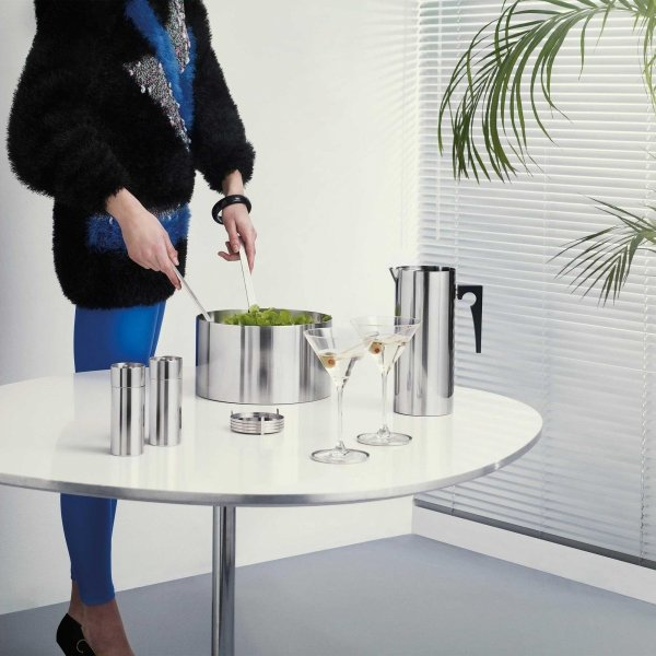 Stelton CYLINDA by Arne Jacobsen - Stalowa Misa do Sałaty