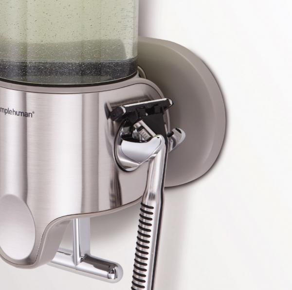 Simplehuman - Ścienny Dozownik do Szamponu, Mydła, Żelu pod Prysznic