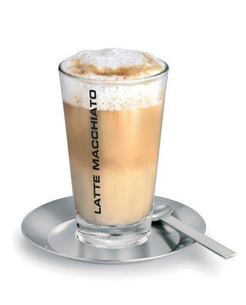 Blomus CONO Szklanka do Kawy Latte ze Spodkiem i Łyżeczką