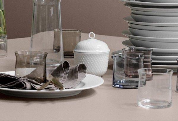 Lyngby Porcelain RHOMBE Miska 13 cm
