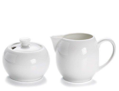 Maxwell Williams WHITE BASICS Cukiernica Mlecznik - Komplet do Mleka i Cukru