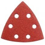 Papier ścierny trójkąt na rzep P40 Delta