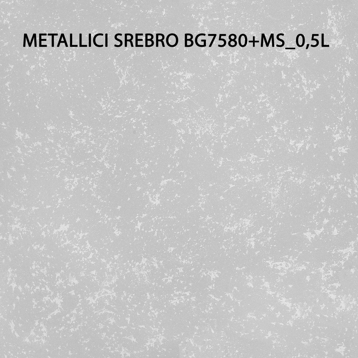 Magnat Style Metallici Srebro 05l Efekty Dekoracyjne