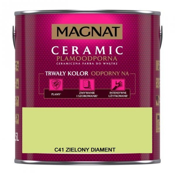 MAGNAT CERAMIC C41 ZIELONY DIAMENT 2,5L