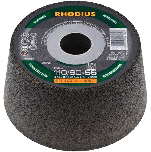 Ściernica doniczkowa garnkowa do betonu 110/90x55 RHODIUS P16