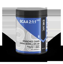 DEX BCAA 2:1:1 X80 400g