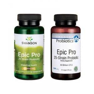 Swanson Epic Pro 25-Strain Probiotic - 30vcaps