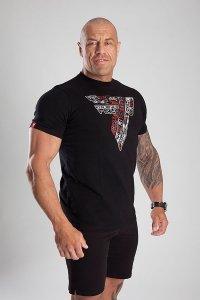 Trec Wear T-SHIRT 047 DOODLE BLACK