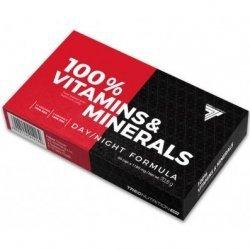 .Trec 100% Vitamins&Minerals 60 caps