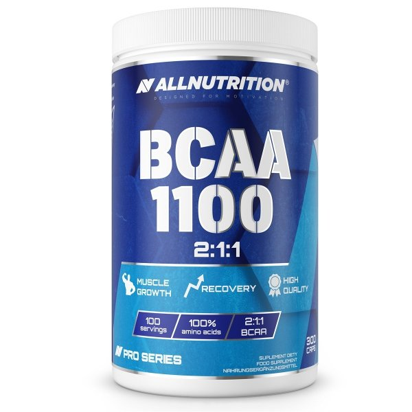 All Nutrition BCAA 1100 Pro Series 300 caps