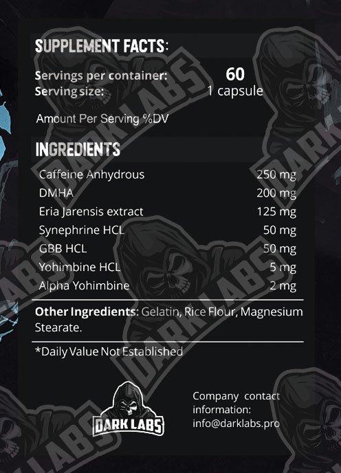 Dark Labs Adrenaline 60 caps