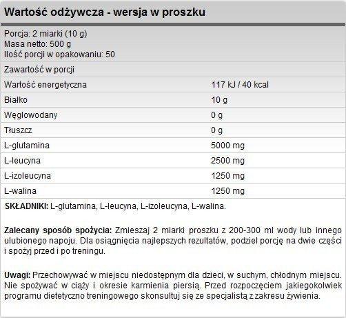 FA Anticatabolix 500g