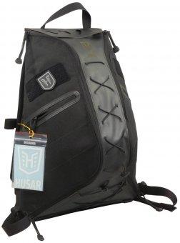 7132bae2473b9 Taktyczny plecak HUSAR DIAMOND+ 20l. *czarny - Plecaki - PLECAKI ORGANIZERY  NERKI