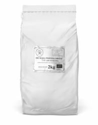 BIO Mąka Pszenna Orkiszowa typ 1400 - Sitkowa - 2kg