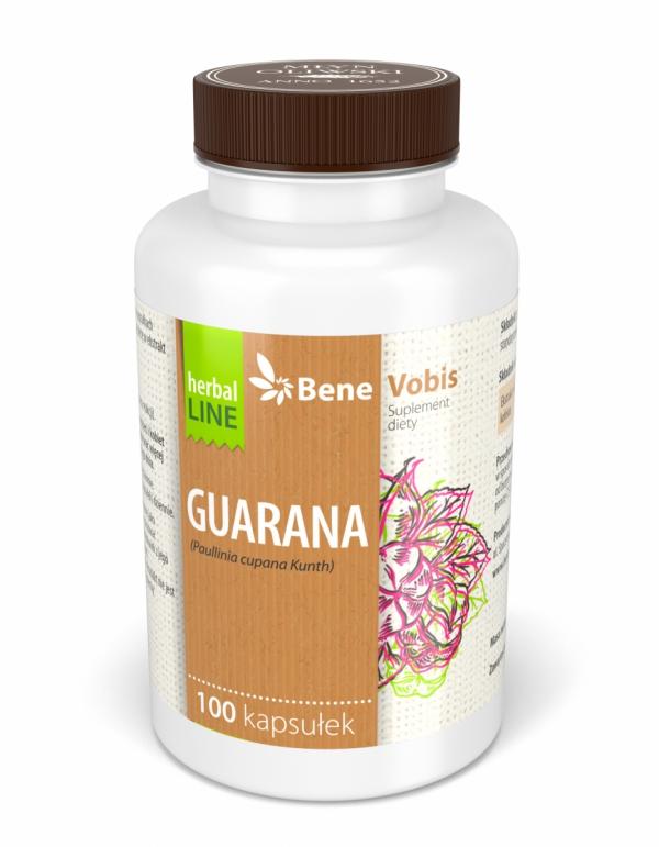 Guarana ekstrakt standaryzowany na zawartość 22% kofeiny - kapsułki