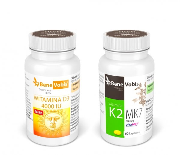Witamina D3 4000  j.m. + K2 MK7