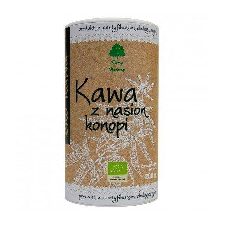 Kawa z nasion konopi BIO - Dary Natury - 200g