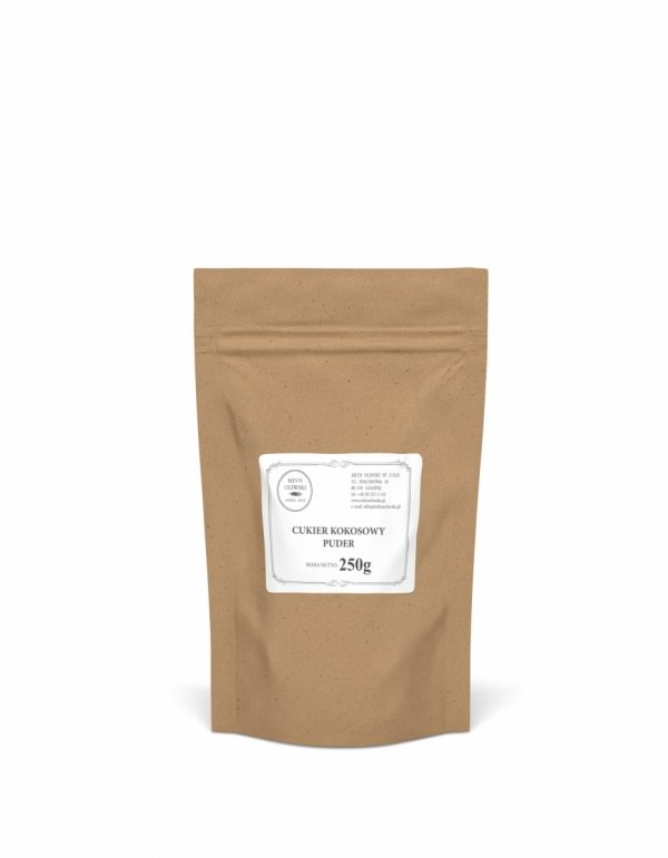 Cukier Kokosowy Puder (Gula Java Brut) - 250g