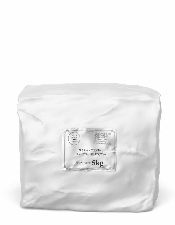 Mąka żytnia typ 720 (chlebowa) - 5kg