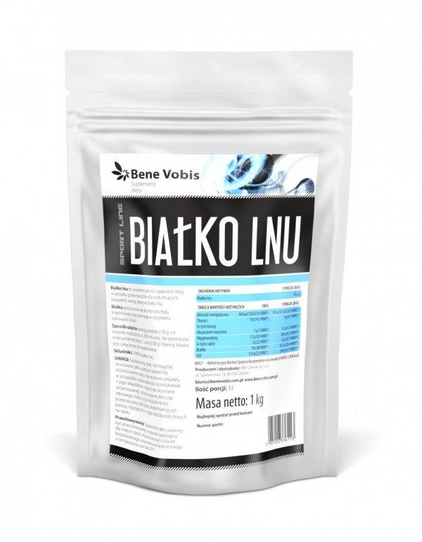 Białko lnu - proszek - 1kg