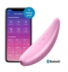 Satisfyer Curvy 3+ Pink incl. Bluetooth and App