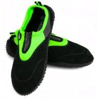 Obuwie Aqua Speed Shoe Model 4A czarny-zielony