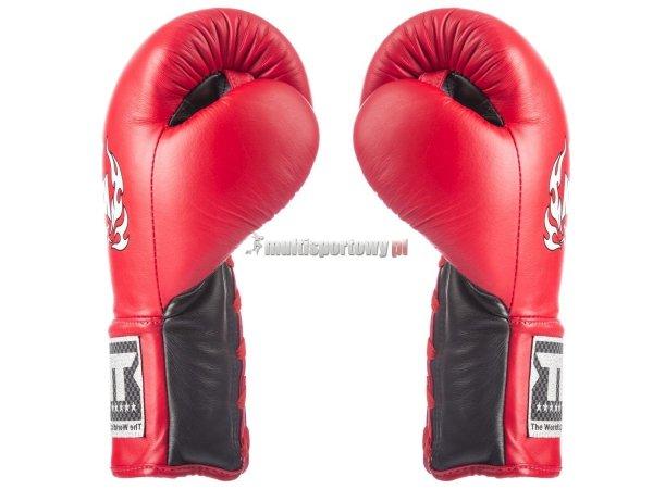 Rękawice bokserskie sznurowane TKBGPL PRO Top King