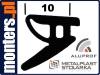 Uszczelka do drzwi okien aluminiowych aluprof 542 (REG16) 1m