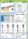 Prowadnica szyna AL H2 do drzwi przesuwnych 1600mm herkules