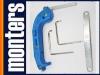 Klamka montażowa MACO + KLUCZE do regulacji okien