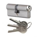 Wkładka bębenkowa do zamka drzw Medos 30/45 nikiel