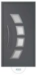 Drzwi wejściowe zewnętrzne Aluprof MB86 wzór AD05