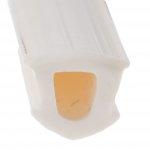 Uszczelka do okien PCV- wypełnienie rowka biała 1m.