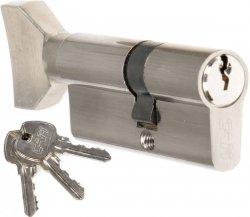 Wkładka z gałką CAM EKO 30/50 G nikiel zamka drzwi