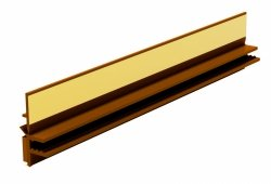 Listwa przyokienna Apu z uszczelką złoty dąb 3m