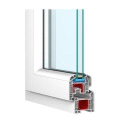 Okna PCV Drutex IGLO 5 Okno energooszczędne - pomiar