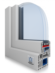 Okna PCV Schuco SI 82 Thermo Okno energooszczędne - pomiar