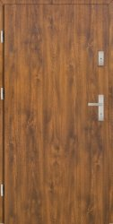 Drzwi PTZ55 90E Lewe Złoty dąb Gładkie 1001x2075